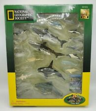 National Geographic Society Set of 20 Coral Reef Figures Used Rare Education