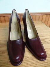 Giancarlo Paoli Pumps, dark red/brown color, size  6