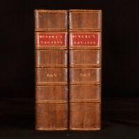 1793 4volsin2 The Works of Cornelius Tacitus Essay on the Life Arthur Murphy