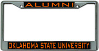 Oklahoma State University ALUMNI License Plate Frame