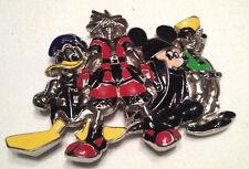 Nice Disney Metal & Enamel Belt Buckle Mickey, Goofey, Donald Duck