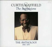 Curtis Mayfield, Curtis Mayfield & Impressions - Anthology [New CD]