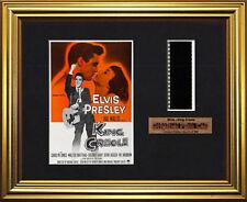 Elvis Mounted Film Cells