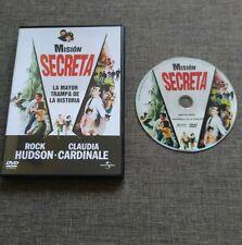 DVD MISION SECRETA - ROCK HUDSON - CLAUDIA CARDINALE - UNIVERSAL STUDIOS - 1965