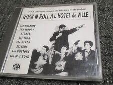 "RARE CD ""ROCK N ROLL A L'HOTEL DE VILLE"" The Polaris, The Moody Stones, Les Tims"