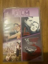 4 Romantic Classic Film Favorites - An Affair To Remember + More (Dvd Set, 2014)