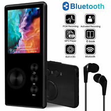 8Gb Portable Bluetooth Mp3 Music Player Fm Radio Recorder Hi-Fi Lossless Sound
