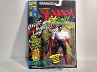 Marvel Comics X-Men X-Force Blacktom Action Figure & Trading Card Toy Biz 1994