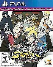 Naruto Shippuden: Ultimate Ninja Storm 4 - Road to Boruto (PlayStation 4, 2017)