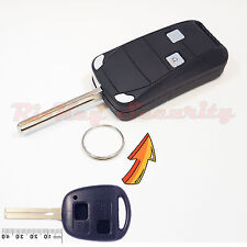 Car Flip Key Modified Case Shell For Lexus 2 Buttons Remote Key Short Blade 42mm