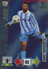 U65 ELISEU MALAGA CF FAN'S FAVOURITE CARD CHAMPIONS LEAGUE ADRENALYN 2013 PANINI