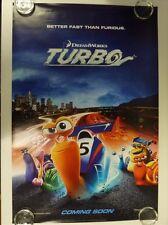 Turbo Animación Ryan Reynolds Advance Cartel De Película Una Lámina 69x102cm