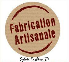 Lot 100 Etiquettes Stickers Fabrication artisanale NEUF CADEAU FETE