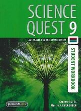 Science Quest 9 Australian Curriculum Edition Student Workbook by Merrin J. Ever