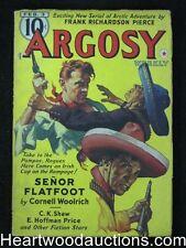 Argosy Feb 03, 1940 Cornell Woolrich Cover