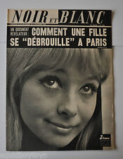NOIR et BLANC No.1235 French Magazine 1968 EVI MARANDI / BOUVRIL France