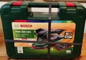 Bosch Multischleifer PSM 200 AES 200W mit Schleifplatte Schleifmaschine