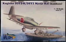 Valom Models 1/72 KUGISHO D3Y2-K K5Y1 MYOJO KIA Japanese Kamikaze Plane