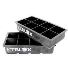 """Chef's Necessities Iceblox Frosted Cocktail Icecube Tray 8"""" x 2"""""""