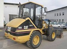NORSCOT Construction Vehicle  CAT  CATERPILLAR   906 WHEEL LOADER   Movable Boom
