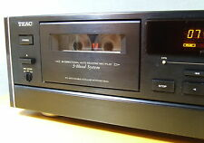 TEAC R-9000, 4-HEAD, REVERSE,  DOLBY B+C, CALIBRATION, WITH NEW BELTS