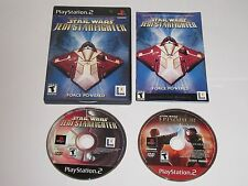 Star Wars Jedi Starfighter (Sony PS2, 2002) w/ Revenge Of The Sith