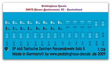 1/35 clock. Characters Armed Forces Set 5 Panzerabwehr 665