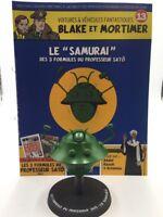 "Figura Blake y Mortimer n13 Le ""Samurai de las 3 Fórmulas Del Profesor Sato"