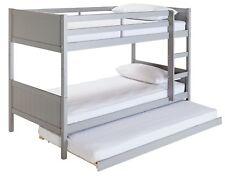 Argos Home Detachable Bunk Bed Frame & Trundle - Grey