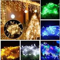 New 10M 100 LED Christmas Wedding Party Decor Outdoor Fairy String Light Lamp