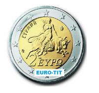 2 EURO    GRECE       2002    PIECE    SUPERBE     GRECE      disponible
