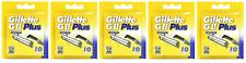 Gillette GII Plus (так же, как Trac II Plus), заполняемое лезвия картриджи, 50 штук