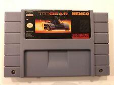 Top Gear [ Super Nintendo Entertainment System ] SNES • Authentic •