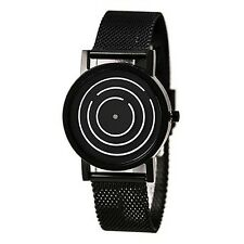 2017 new Unique Design Black Color Dial Chain Strap Men & Boys Wrist Watch !!!