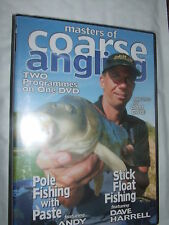 Masters Of Coarse Angling Pole Fishing / Stick Float Fishing DVD NEW