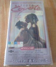 Ultra Rare VHS French Movie Mitsou est Coyote ! Mitsou & Labbé