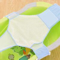 Newborn Bed Infant Baby Bath Adjustable Antiskid For Bathtub Seat Sling Mesh Net