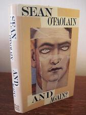 1st Edition thus AND AGAIN? Sean O'Faolain IRISH Classic Fiction