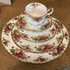 Royal Albert Old Country Roses 5 Piece Place Setting Made In England