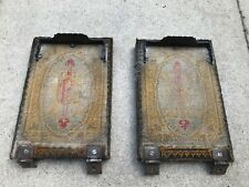 More details for pair of victorian canadian organ pedals ( original pedal material )