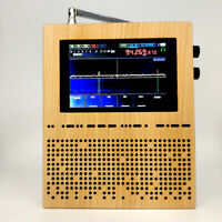 "3.5"" LCD-Digital-Signalempfänger SDR-Radio-DSP-Empfänger Wood Shell-Lautsprecher"