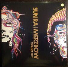 YELLOW VINYL Sun Ra Merzbow STRANGE CITY LP Rare Sold Out FREE JAZZ Harsh Noise