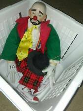 Vintage Clown with removable hat