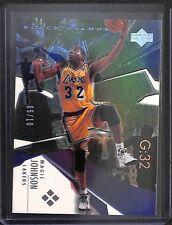 2003-04 Upper Deck Black Diamond Basketball Rainbow Foil #177 Magic Johnson