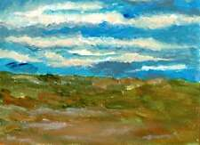 british landscape acrylic abstract painting unique gift (Print) ID : 1520