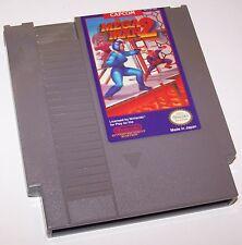 Vintage 1989 Mega Man 2 Nintendo Entertainment System Video Game Cartridge - NES