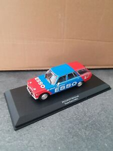 Ixo Kiosque 1/43 - Peugeot 504 Break Team Esso 1981 - EM