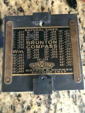 Nautical Brunton Compass 1917 Kelvin & Hughes London Compass .