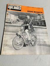 Scooter et Cyclomoto 196 1969 Bicizeta , Maïco MD50 sport , proto 100 Clamousse