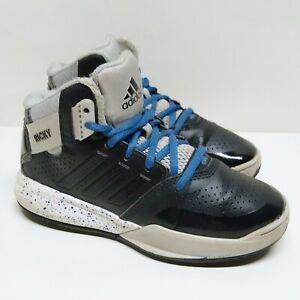 Adidas Outrival 2 K Ricky Rubio Boys Black Basketball Shoes Kids Size 13K Youth